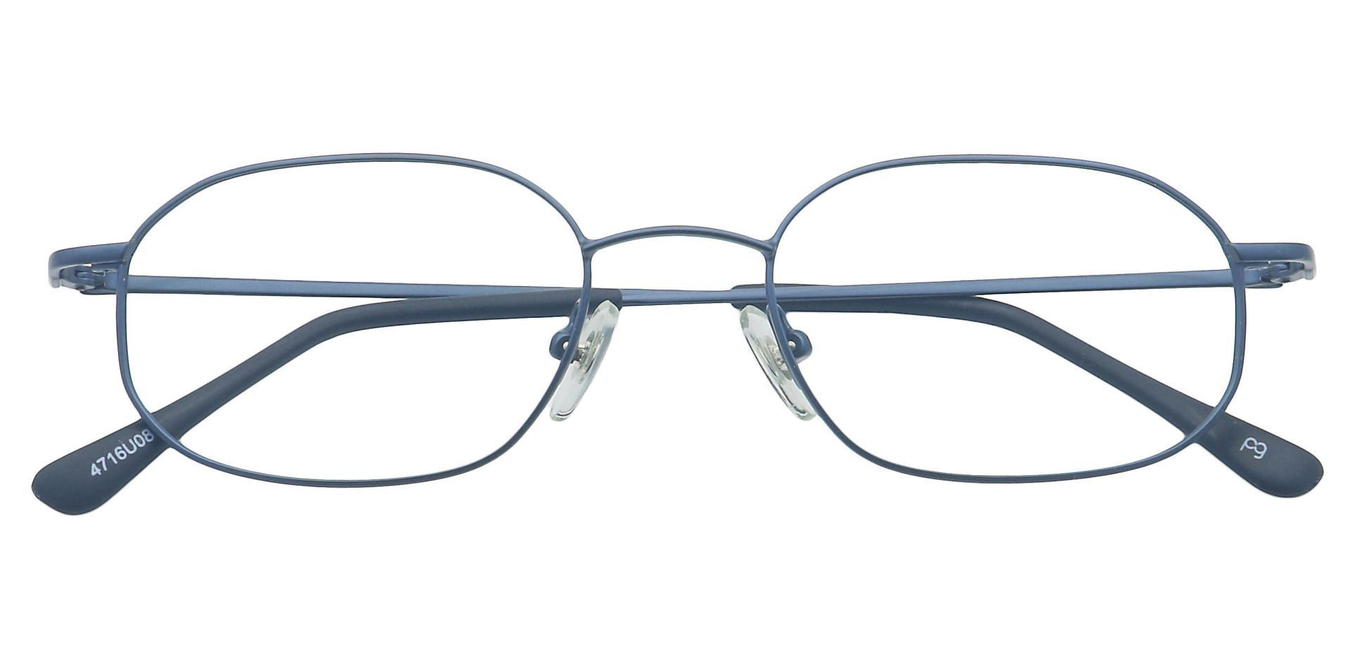 Parker Oval Progressive Glasses - Blue