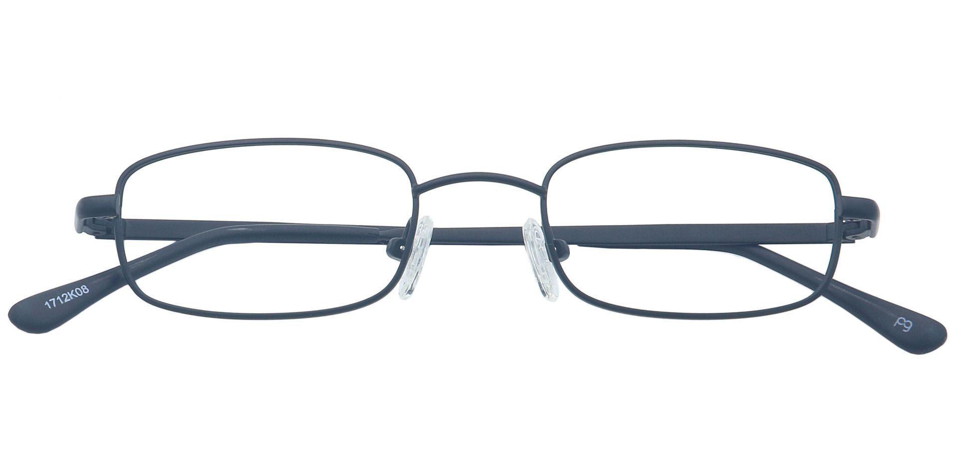 Hayden Rectangle Eyeglasses Frame - Black