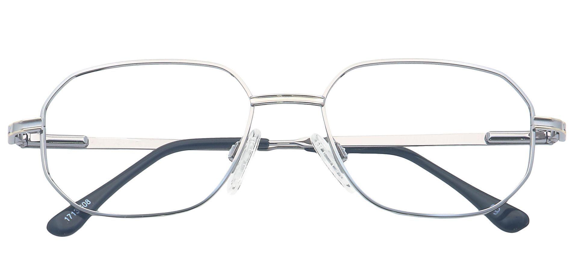 Russell Rectangle Prescription Glasses - Gray