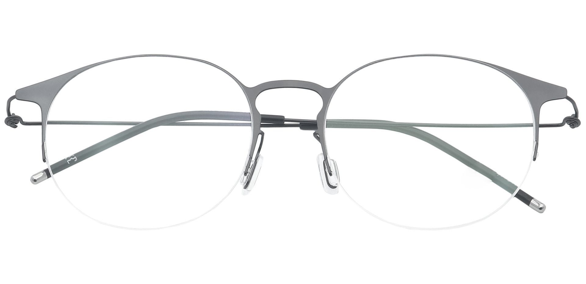 Howie Round Prescription Glasses - Black