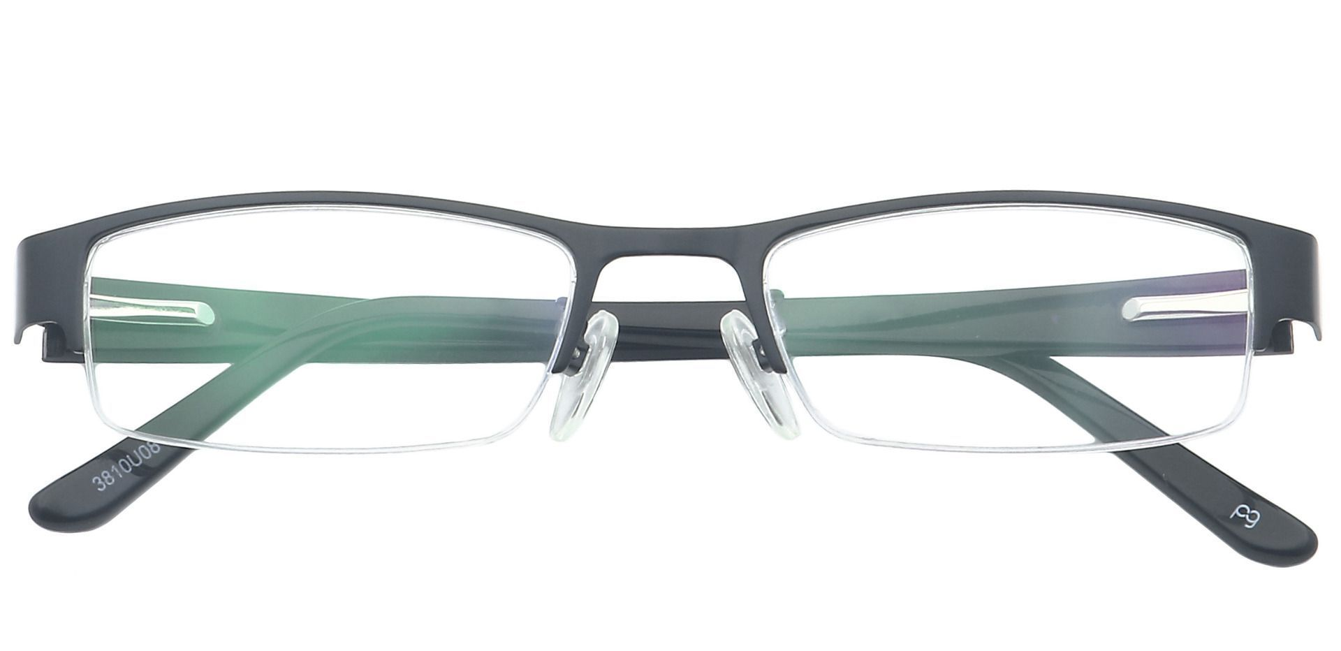 Ringo Rectangle Non-Rx Glasses - Blue