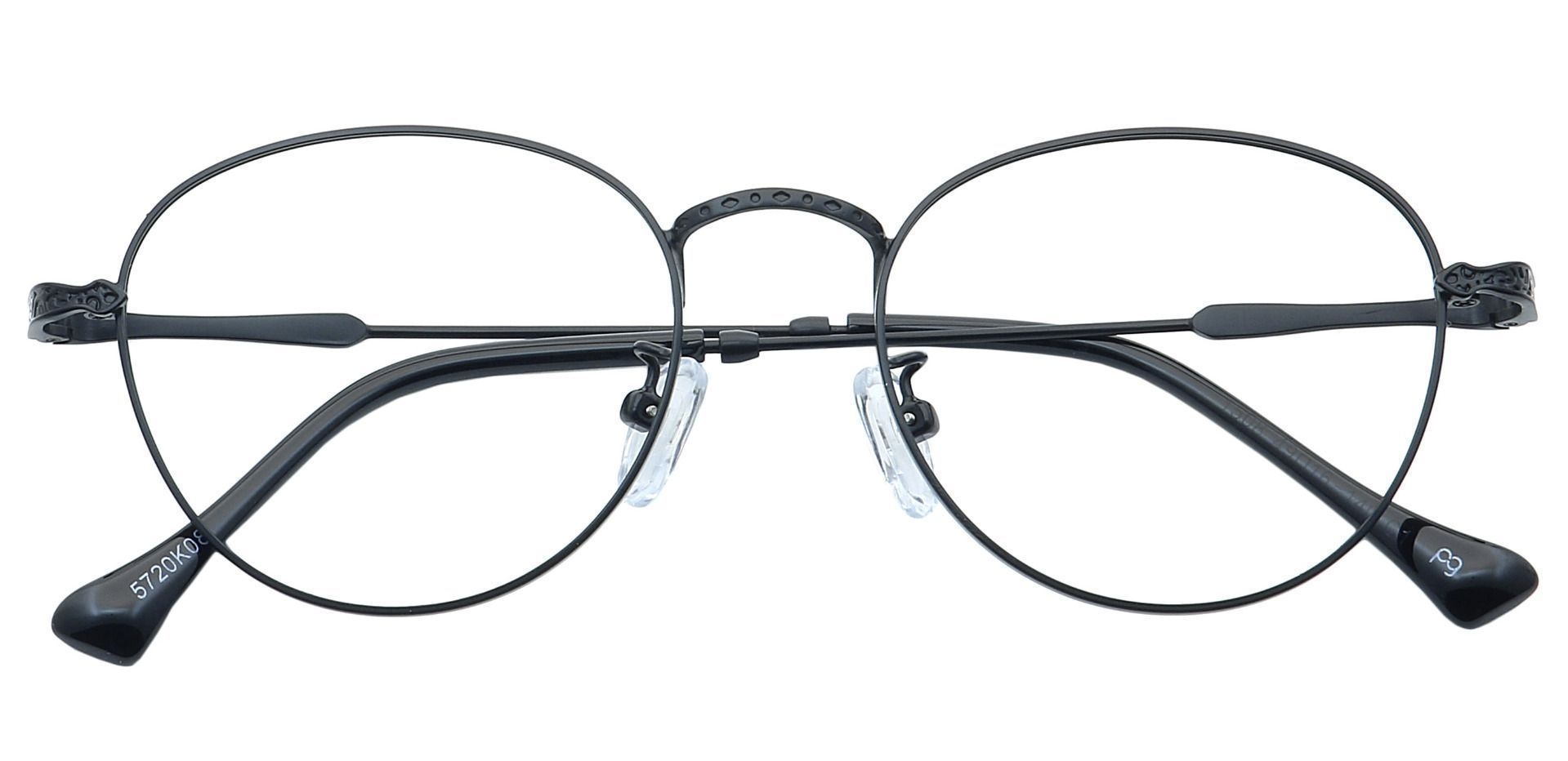 Shawn Oval Reading Glasses - Black