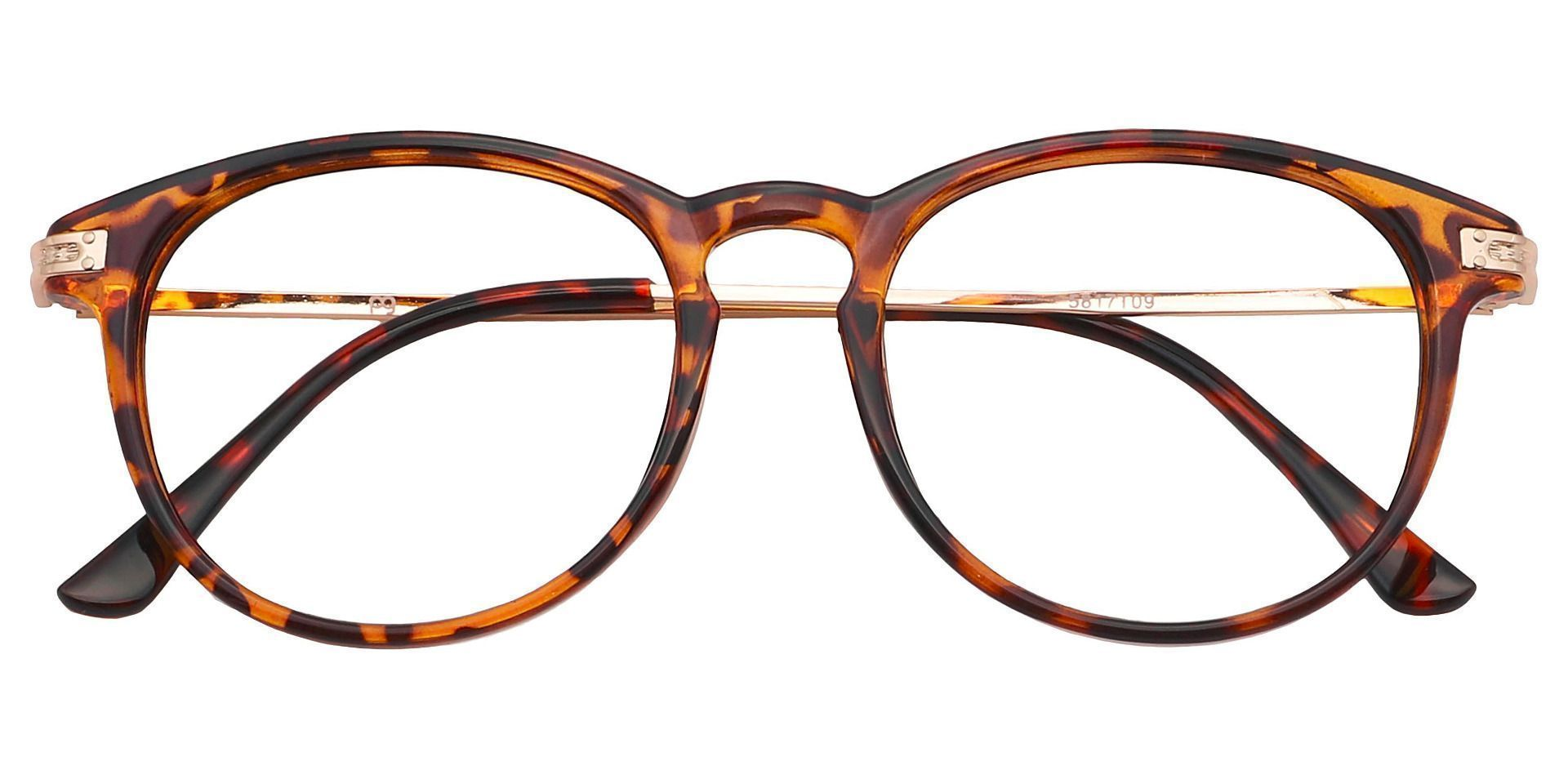 Rojo Round Prescription Glasses - Tortoise