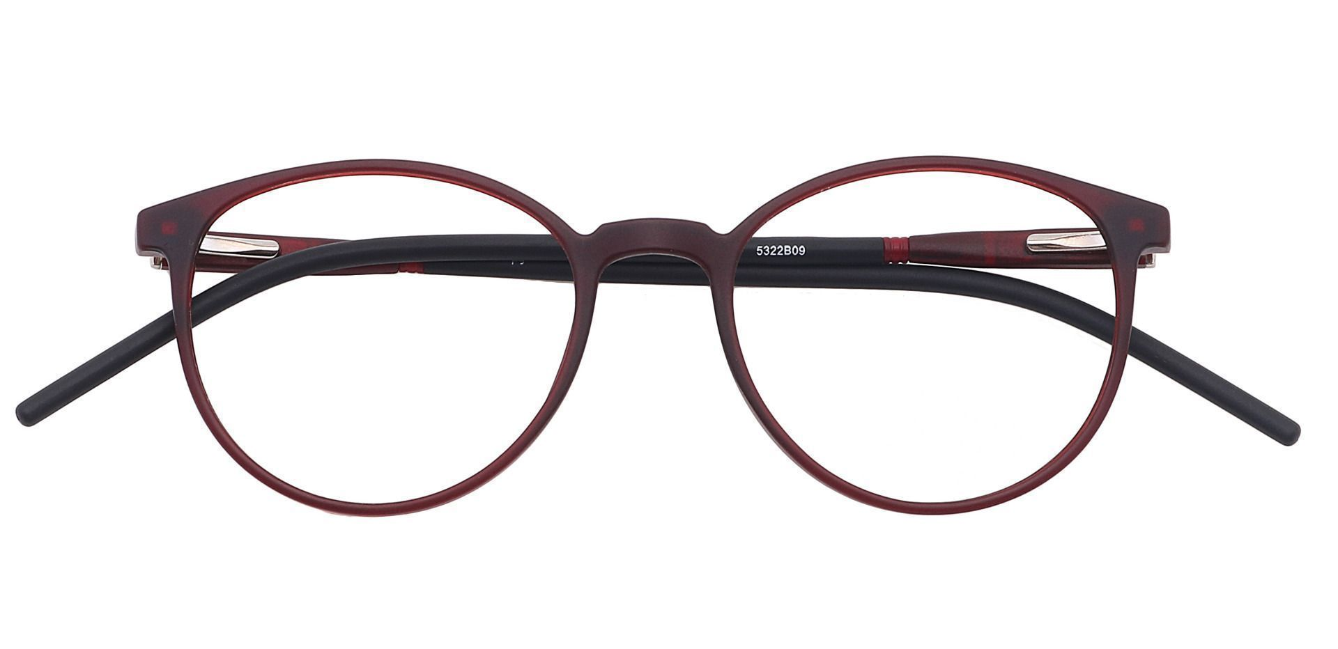 Vivi Round Prescription Glasses - Brown
