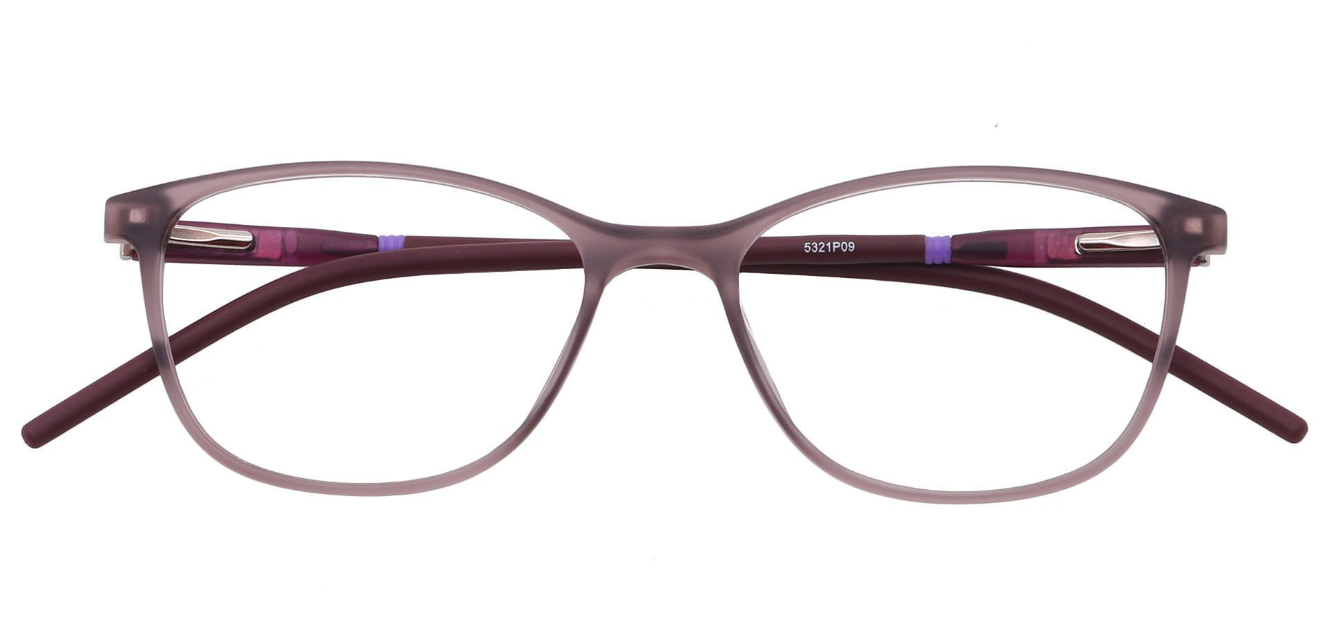 Hazel Square Prescription Glasses - Purple