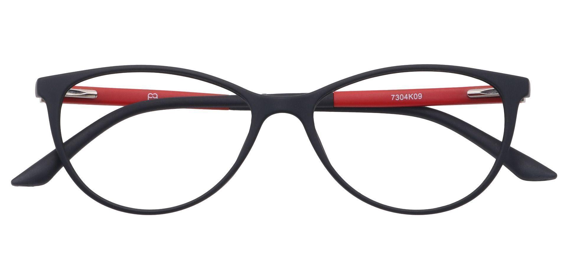 Daria Cat-Eye Prescription Glasses - Black