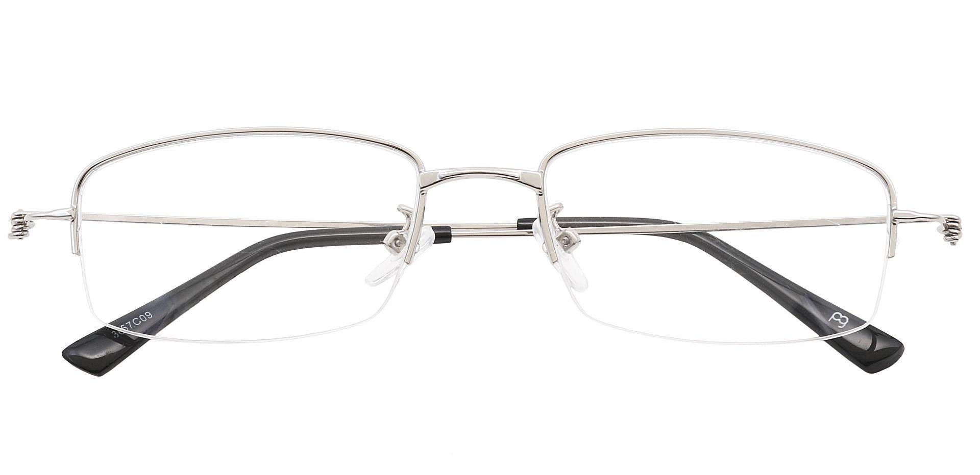 Wyoming Rectangle Prescription Glasses - Gray