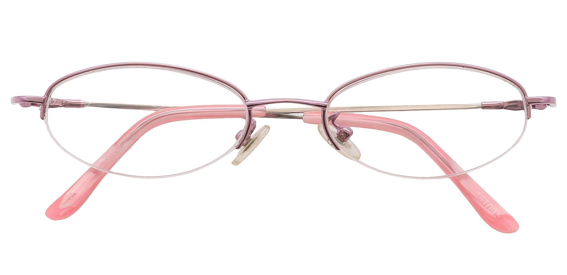 Union Oval Single Vision Glasses - Pink