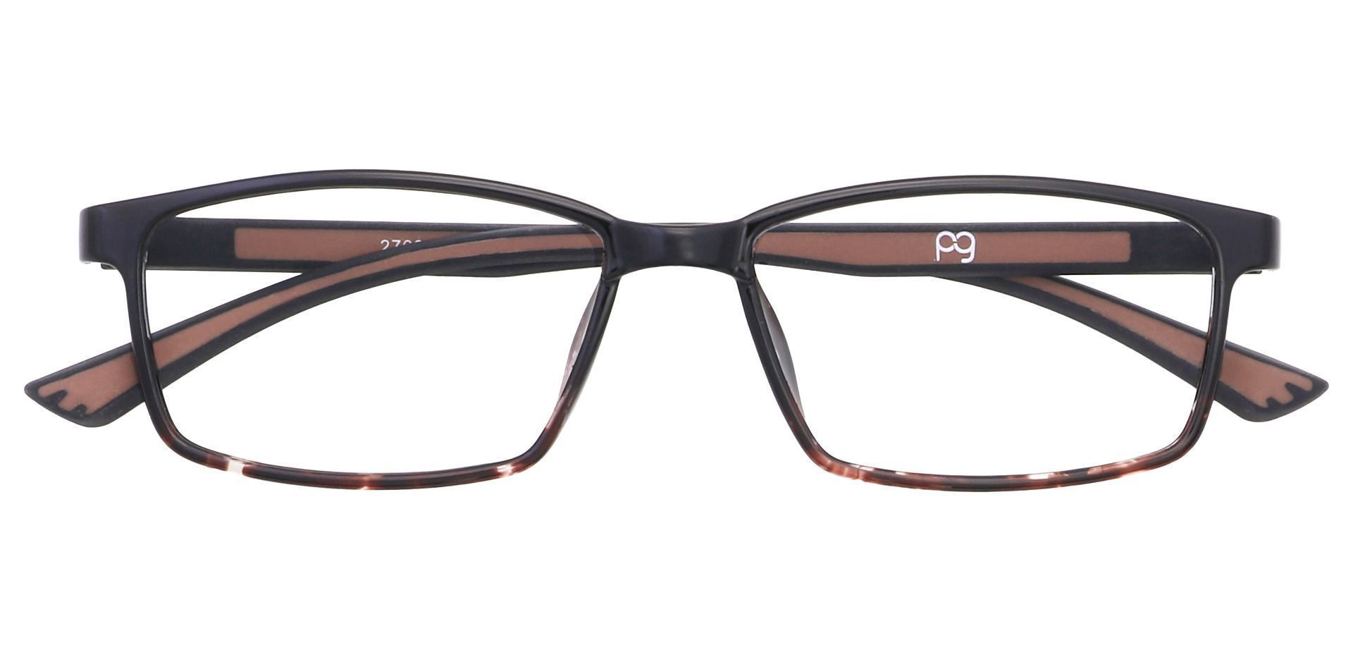 Summit Rectangle Prescription Glasses - Tortoise