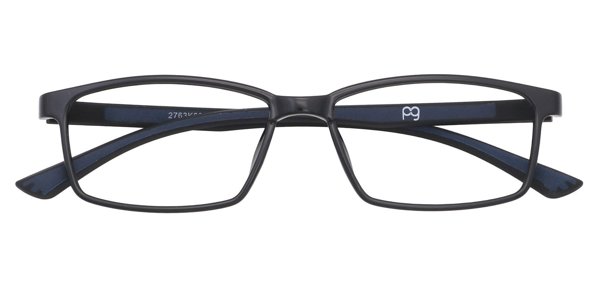 Summit Rectangle Prescription Glasses - Black