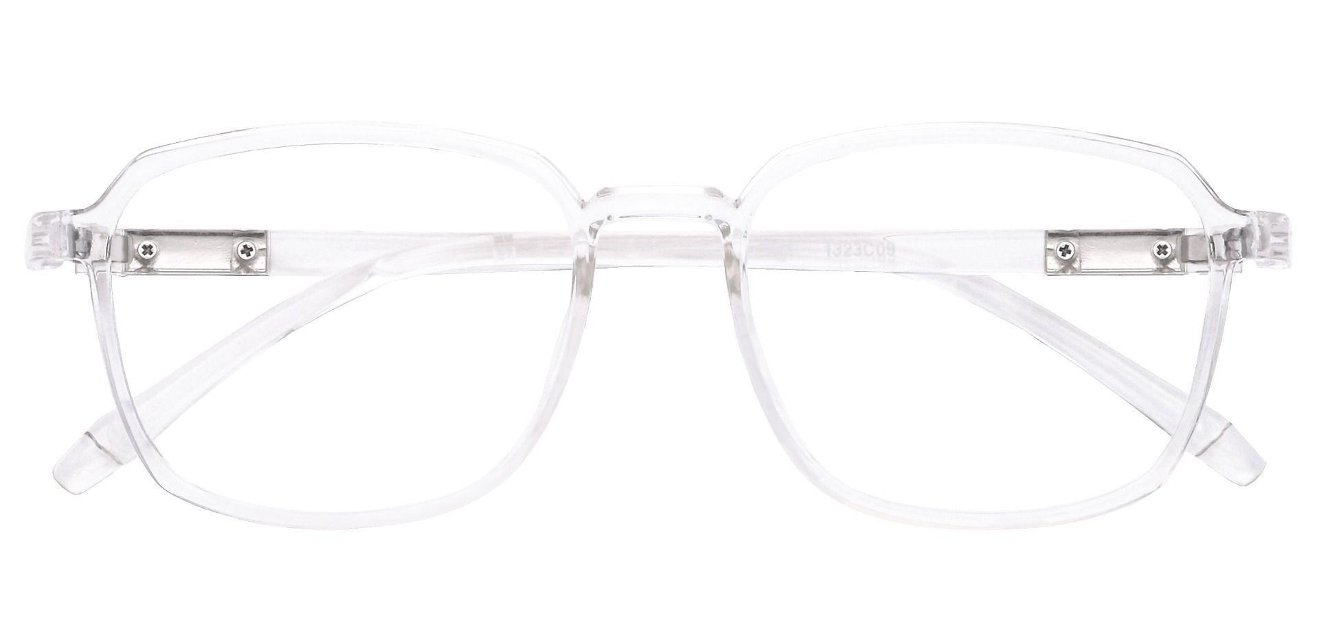Stella Square Prescription Glasses - Clear
