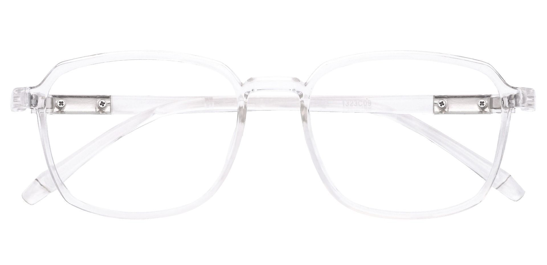 Stella Square Reading Glasses - Clear