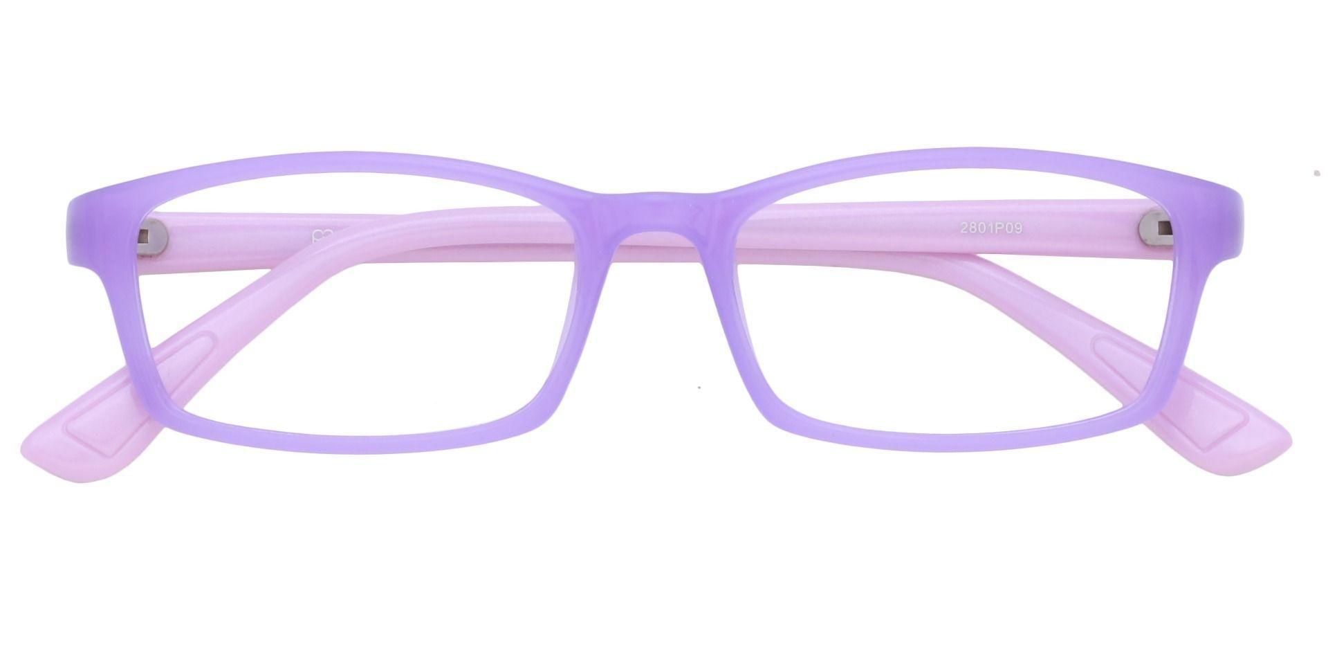 Orchid Rectangle Prescription Glasses - Lavender