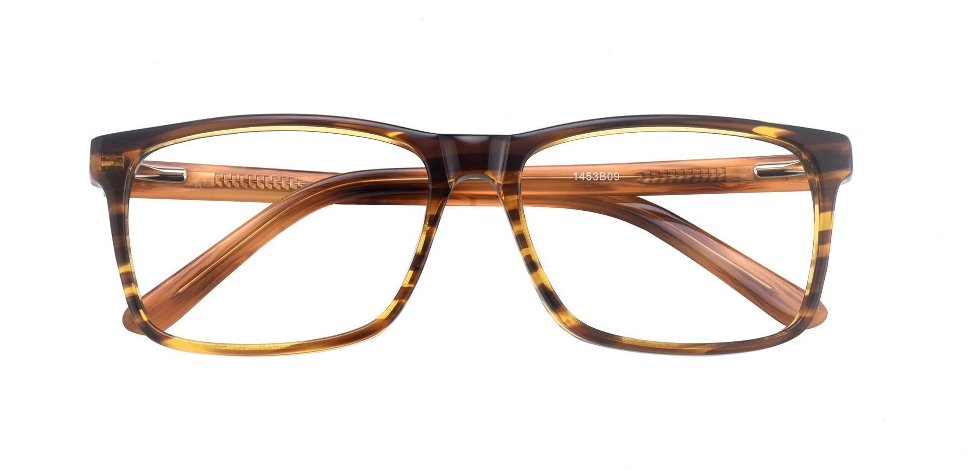 Clifton Rectangle Progressive Glasses - Brown