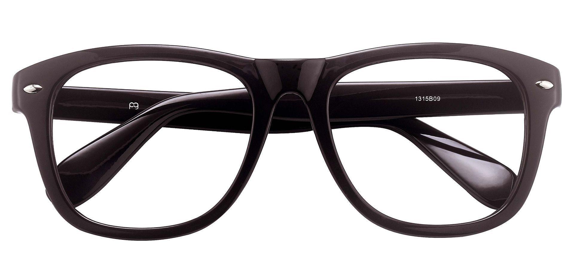 Yolanda Square Lined Bifocal Glasses - Brown