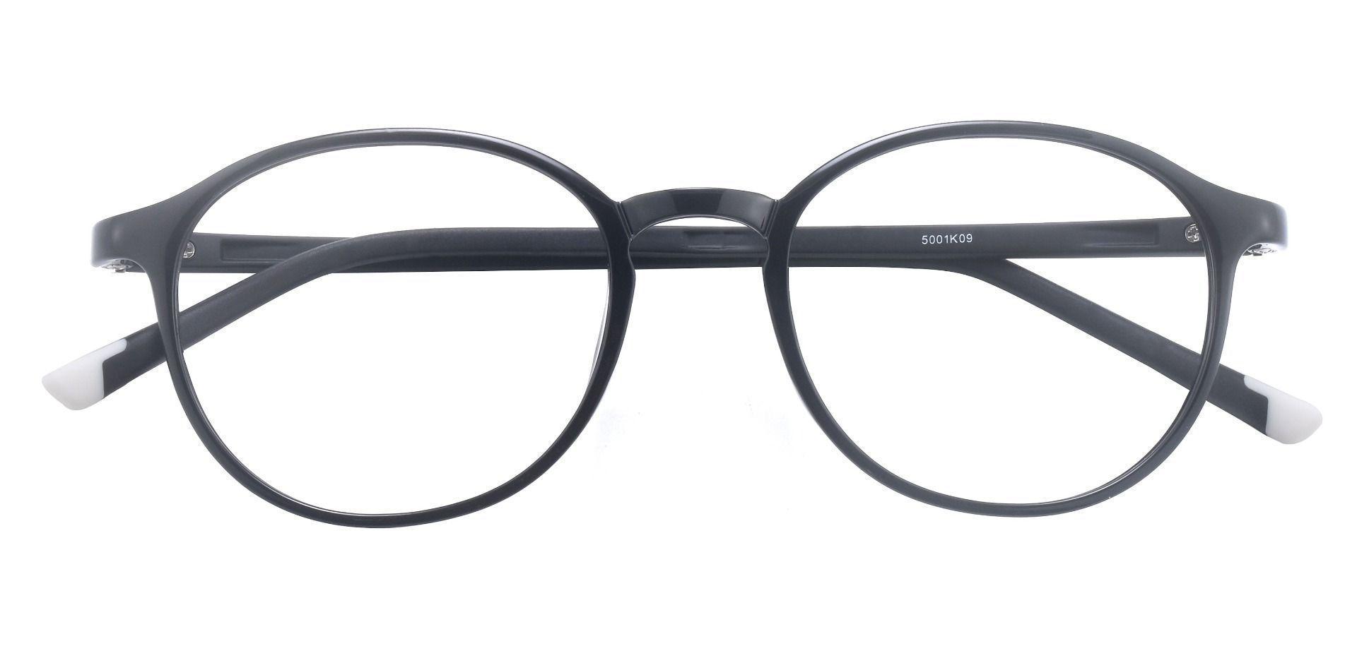 Agave Oval Prescription Glasses - Black