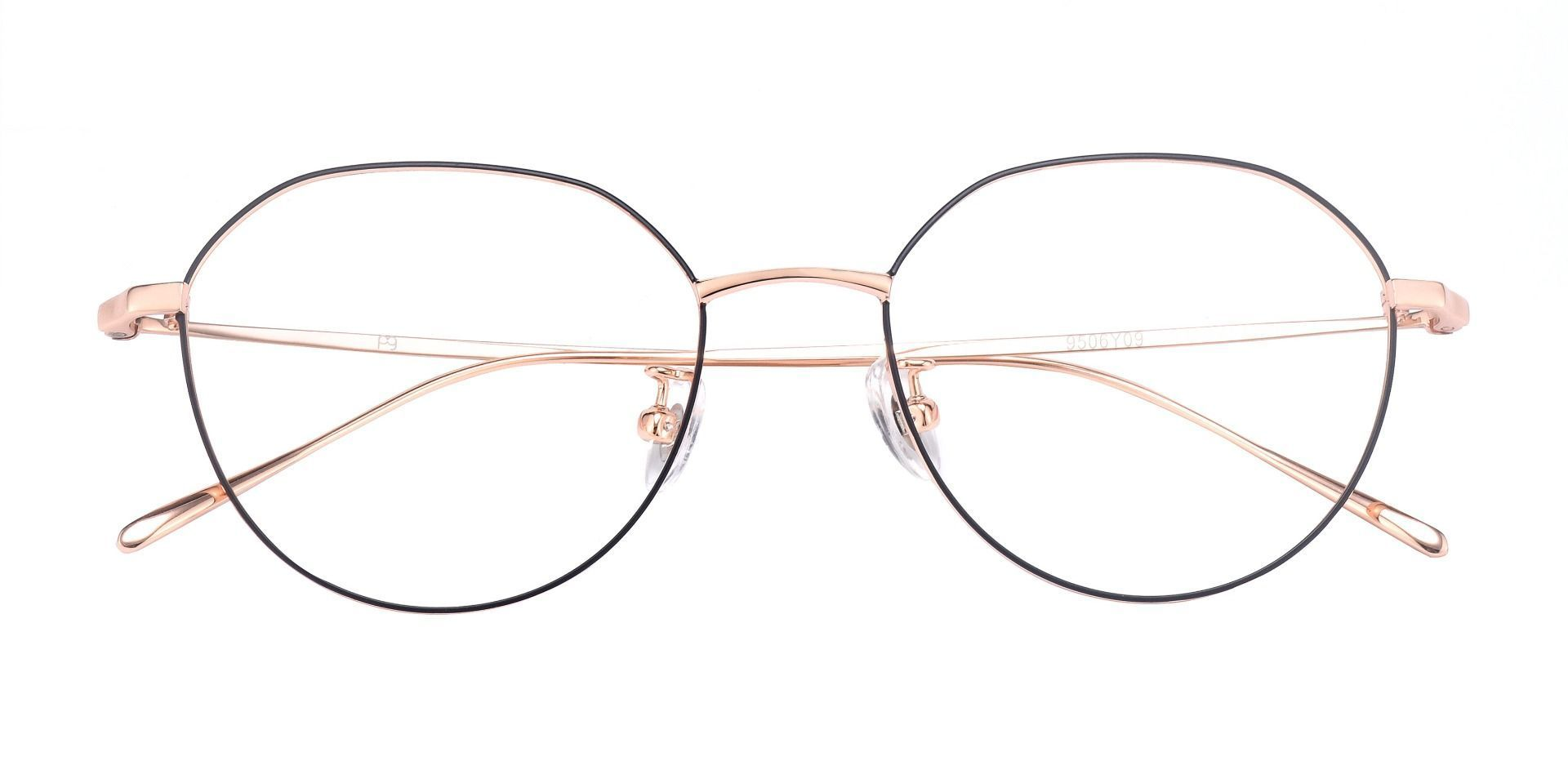 Celsius Geometric Prescription Glasses - Yellow