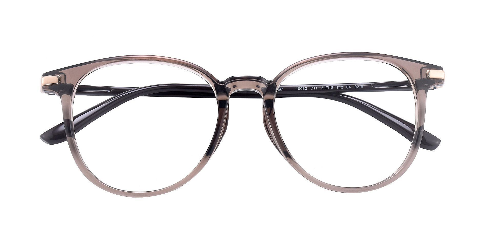 Arlo Oval Prescription Glasses - Gray