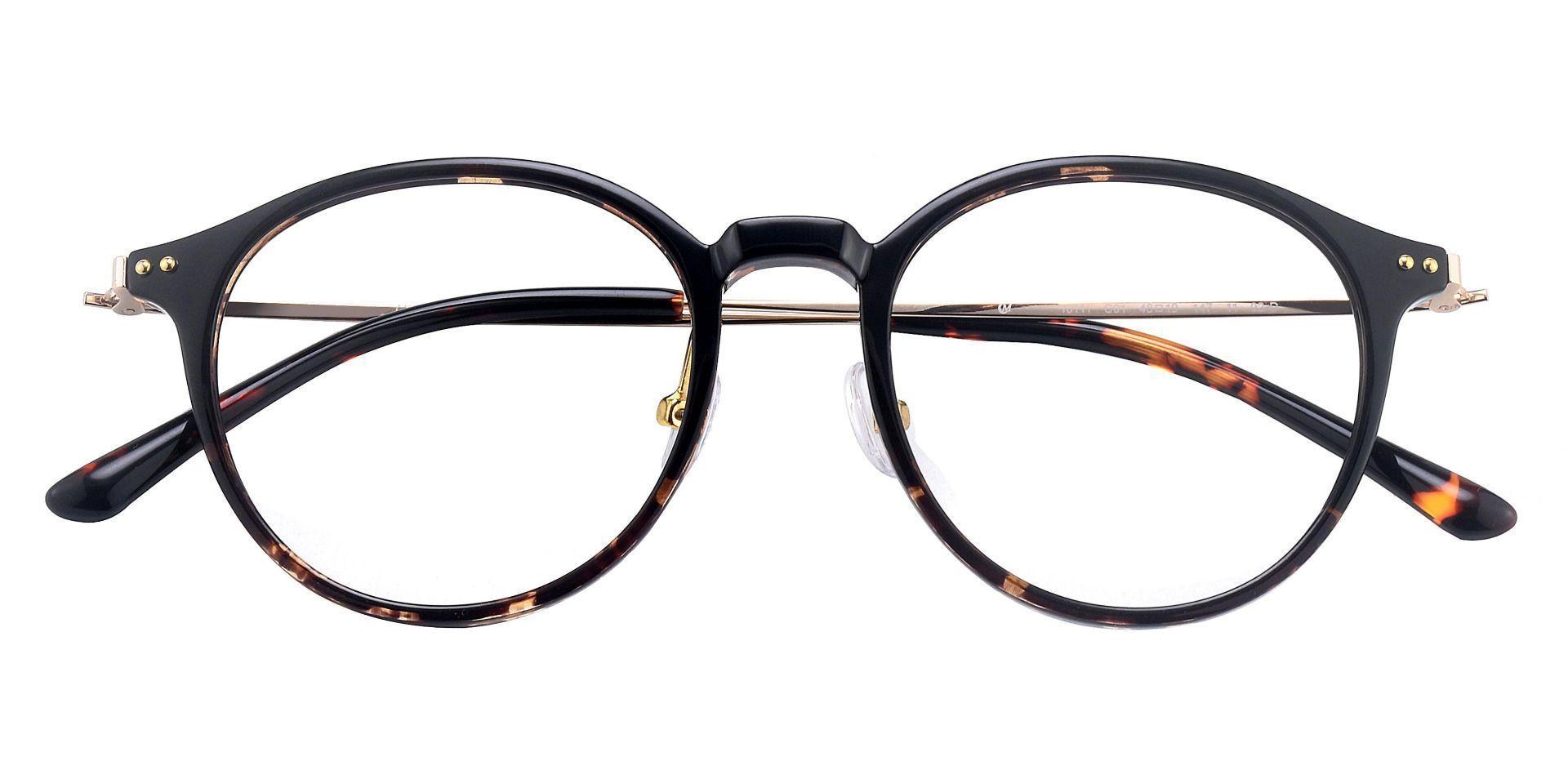 Meyer Round Prescription Glasses - Tortoise