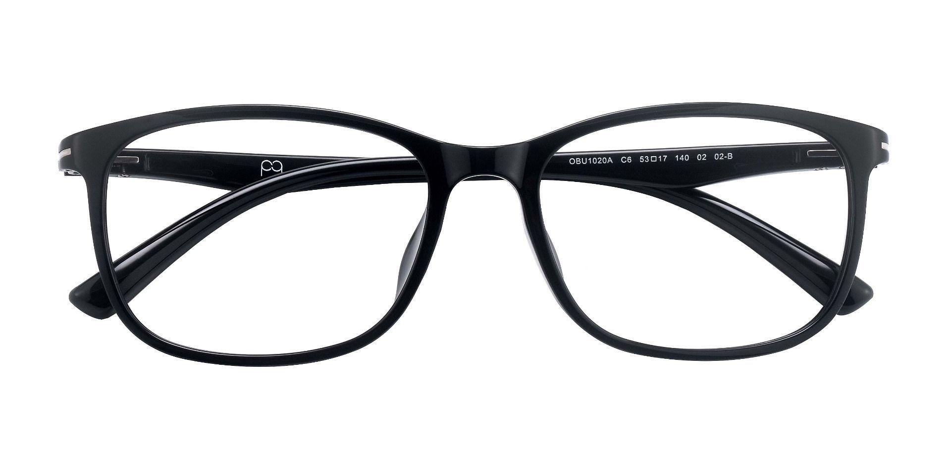 Gallant Oval Prescription Glasses - Black