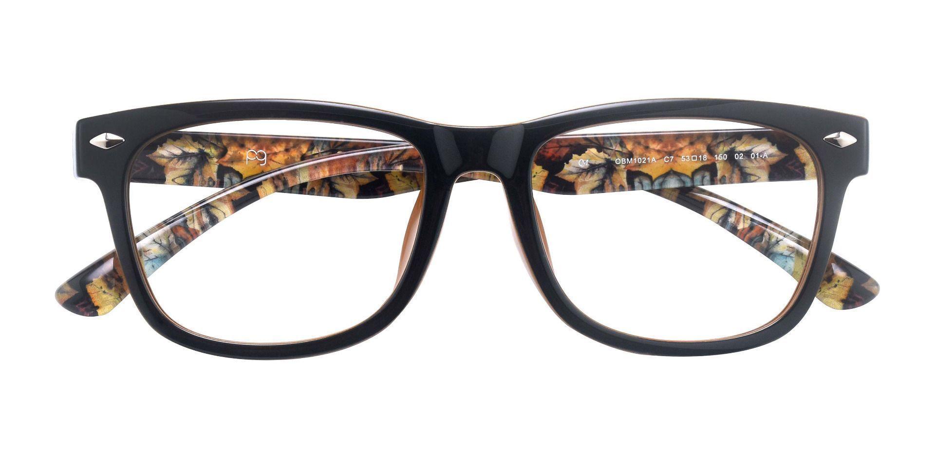 Tessa Classic Square Prescription Glasses - Black