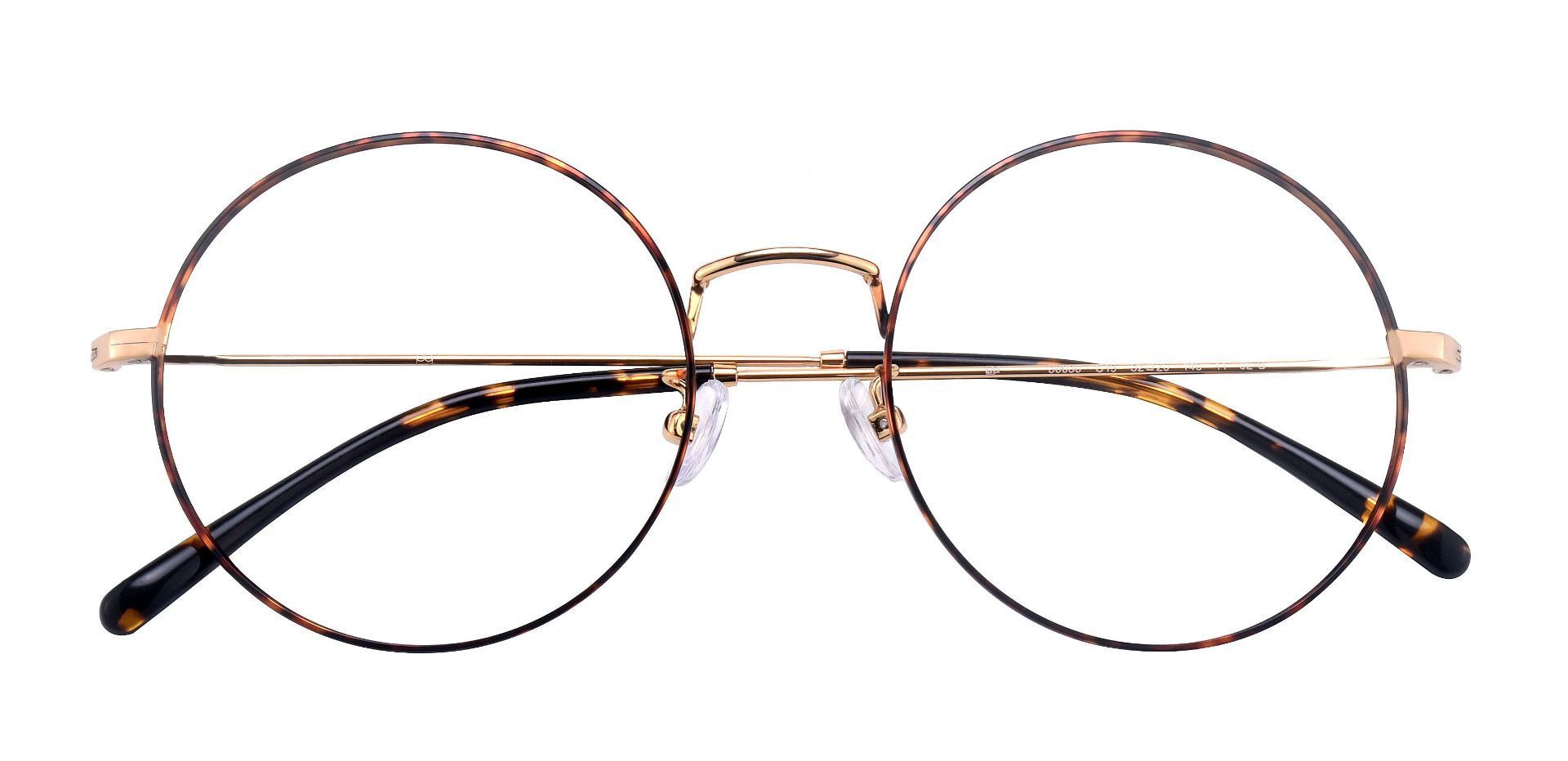 Sawyer Round Prescription Glasses - Tortoise/gold