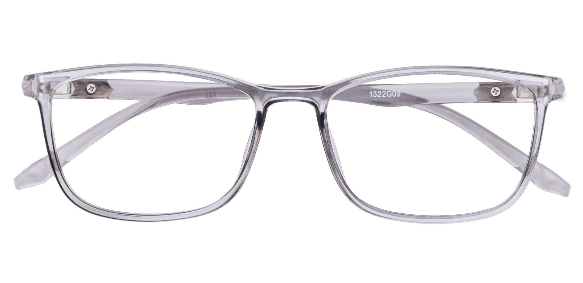 Harvest Rectangle Progressive Glasses - Gray