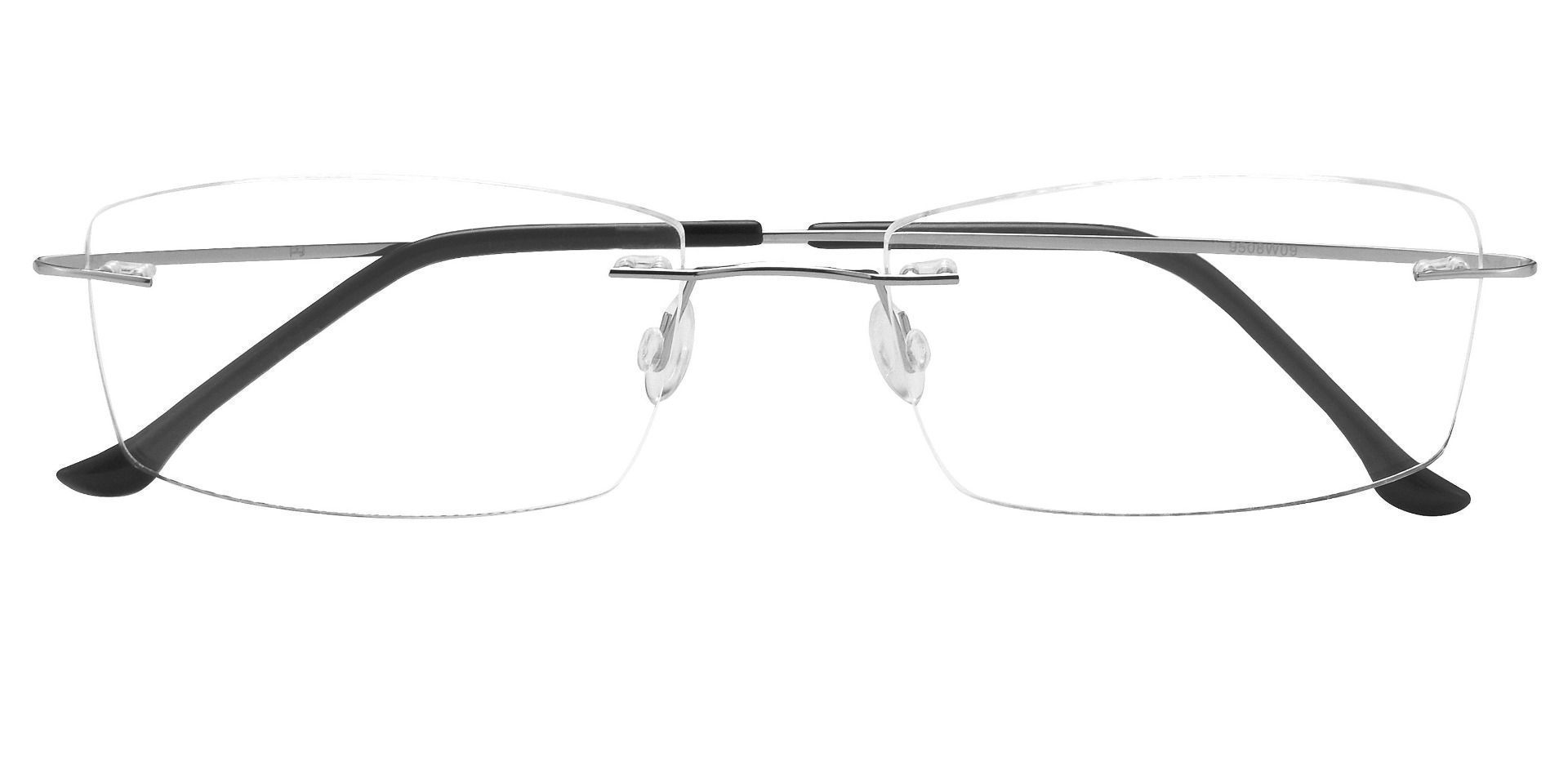 Bernard Rimless Prescription Glasses - Clear
