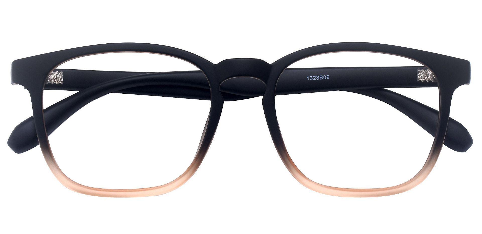 Dusk Classic Square Prescription Glasses - Brown
