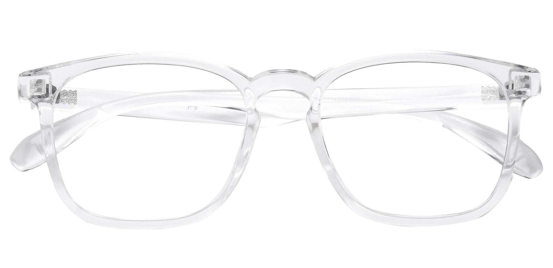 Dusk Classic Square Prescription Glasses - Clear