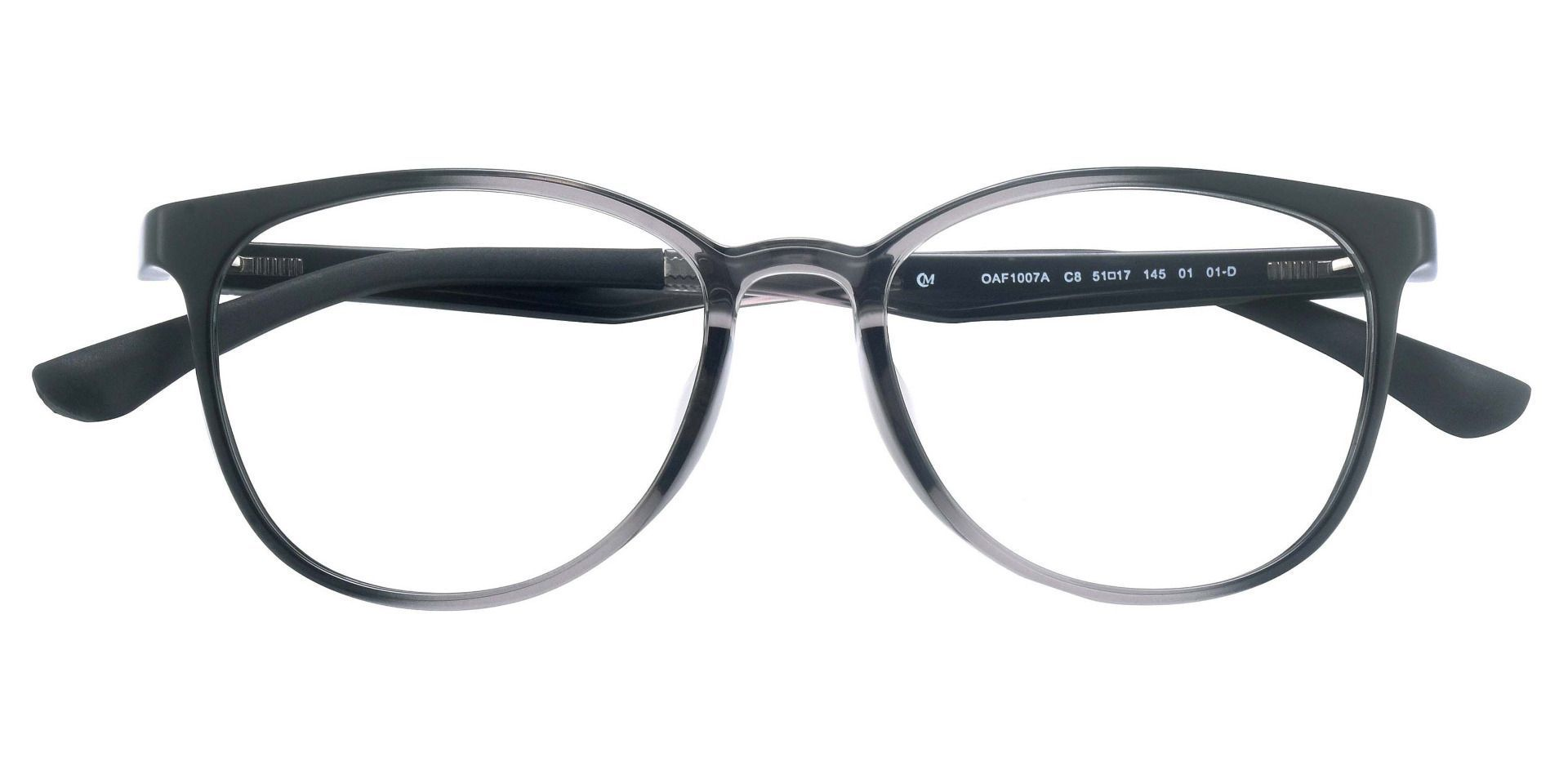 McGregor Oval Prescription Glasses - Gray