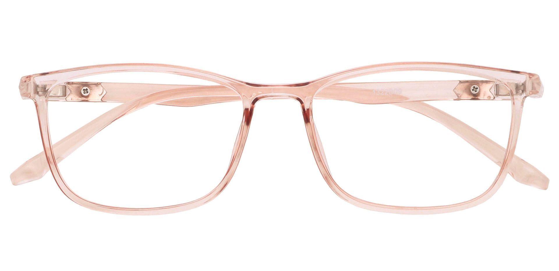 Harvest Rectangle Eyeglasses Frame - Brown