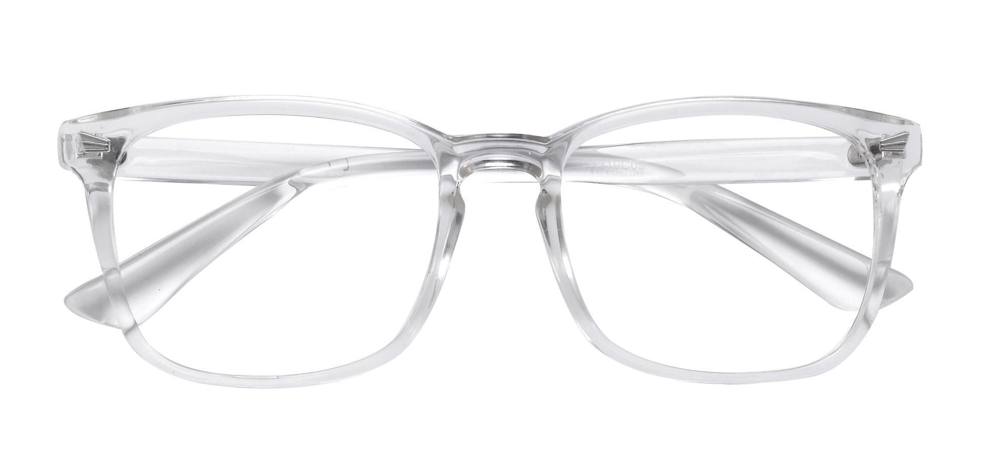 Rogan Square Prescription Glasses - Clear