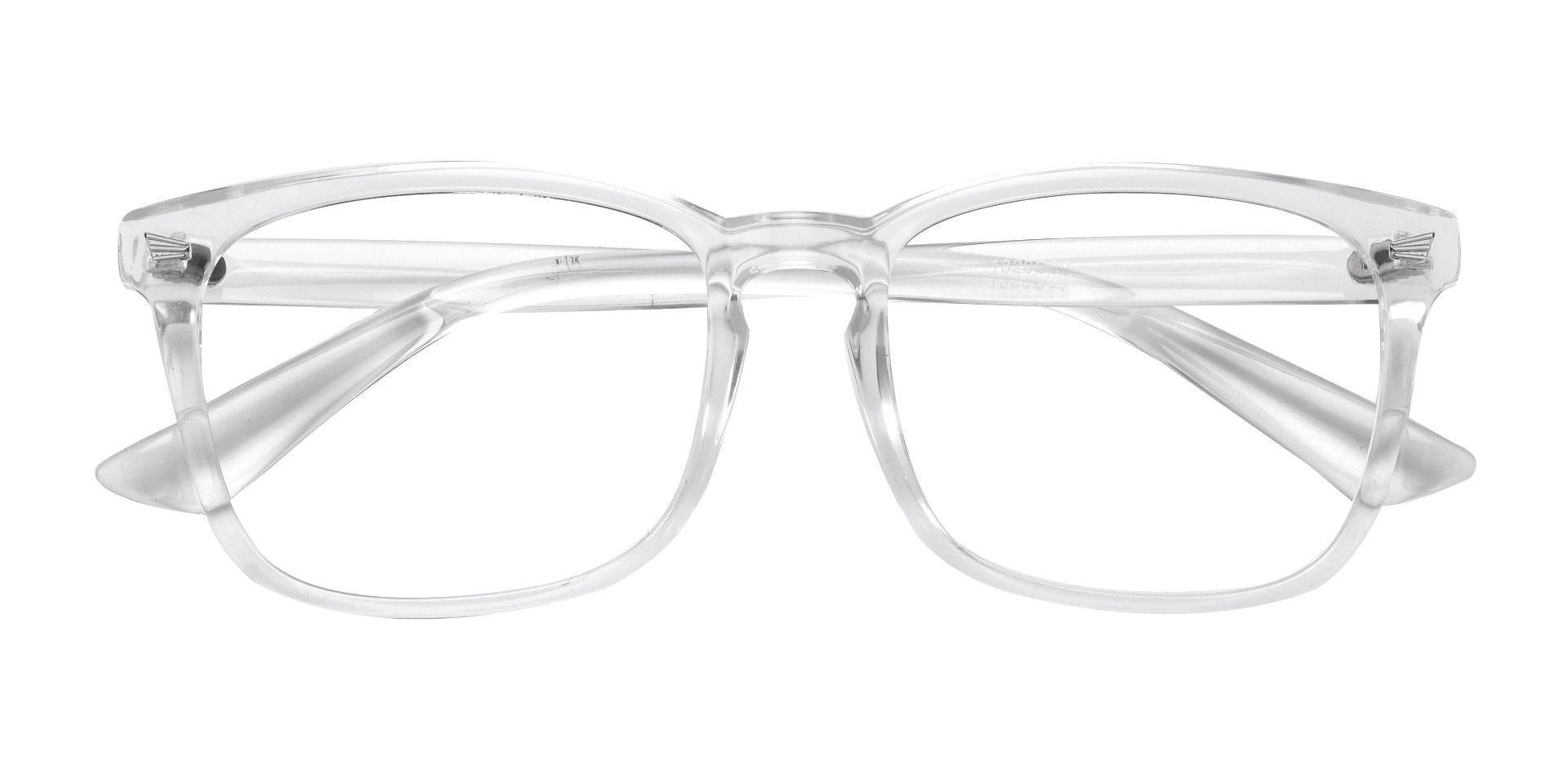 Zen Square Prescription Glasses - Clear