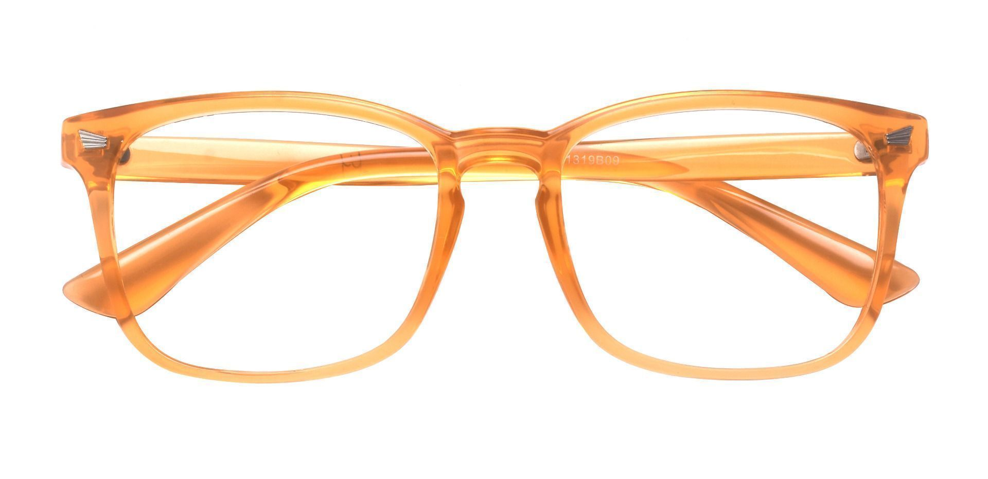 Rogan Square Prescription Glasses - Orange