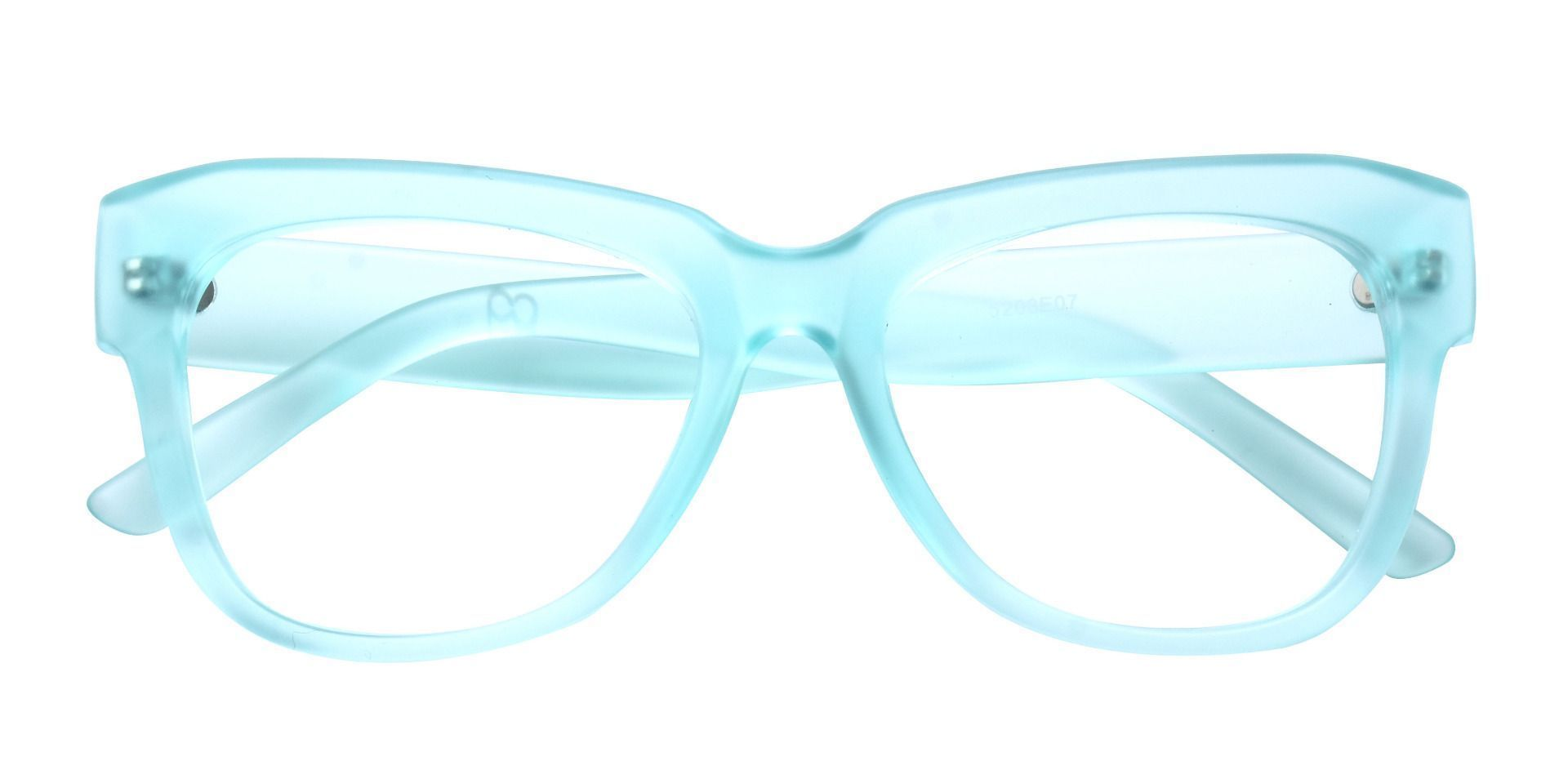 Gina Cat-Eye Reading Glasses - Matte Sea Glass Green Crystal