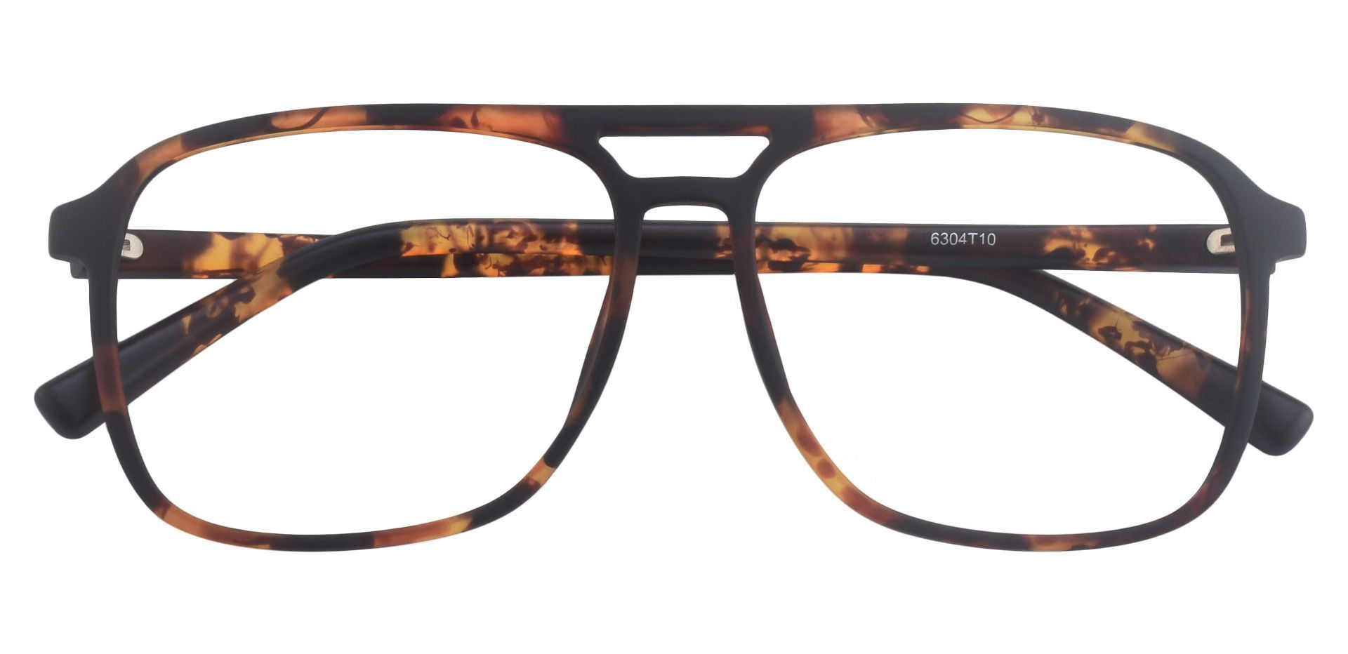 Edward Aviator Prescription Glasses - Tortoise