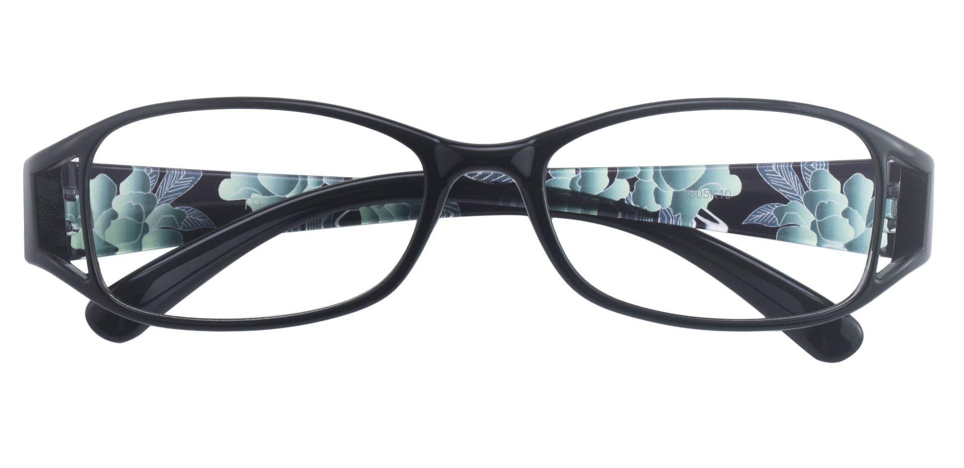 Libra Rectangle Prescription Glasses - Black