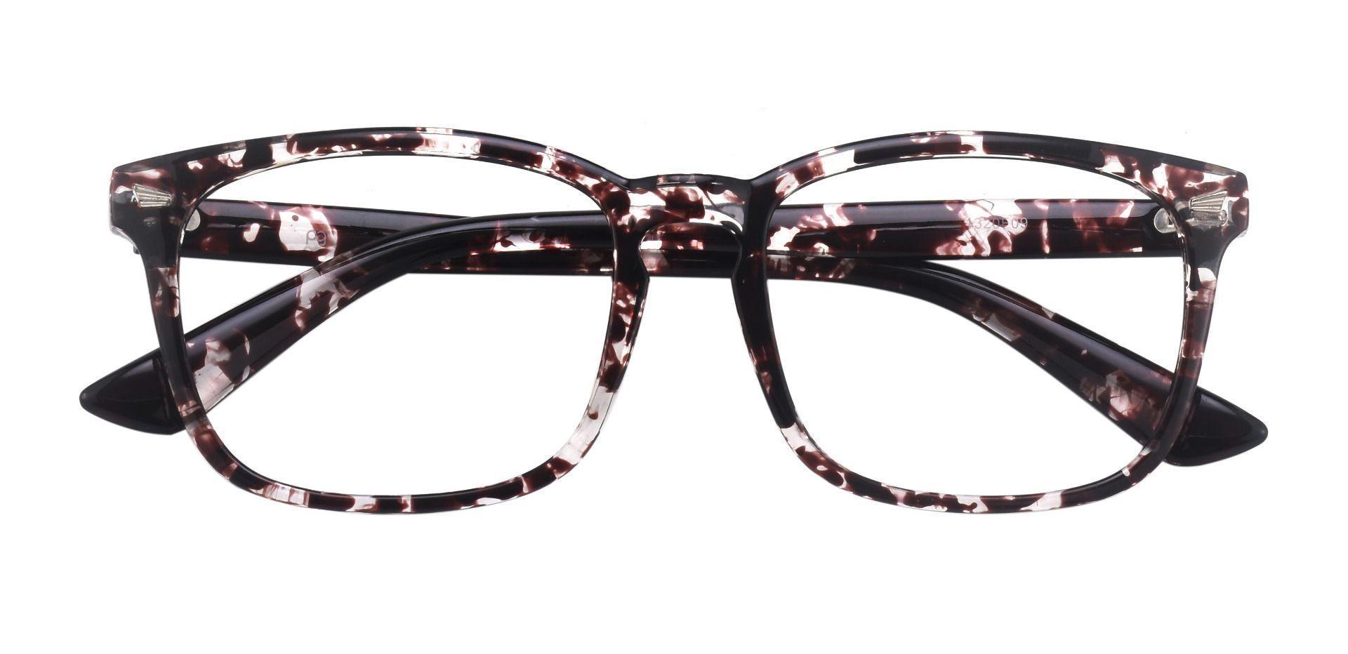 Zen Square Prescription Glasses - Two-tone