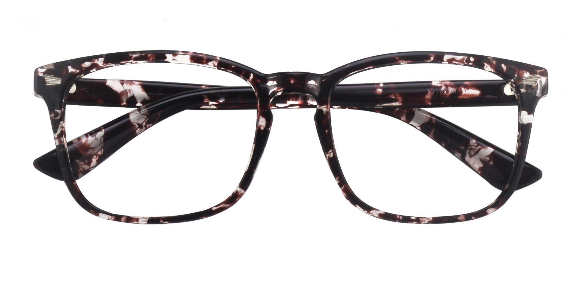Rogan Square Prescription Glasses - Floral