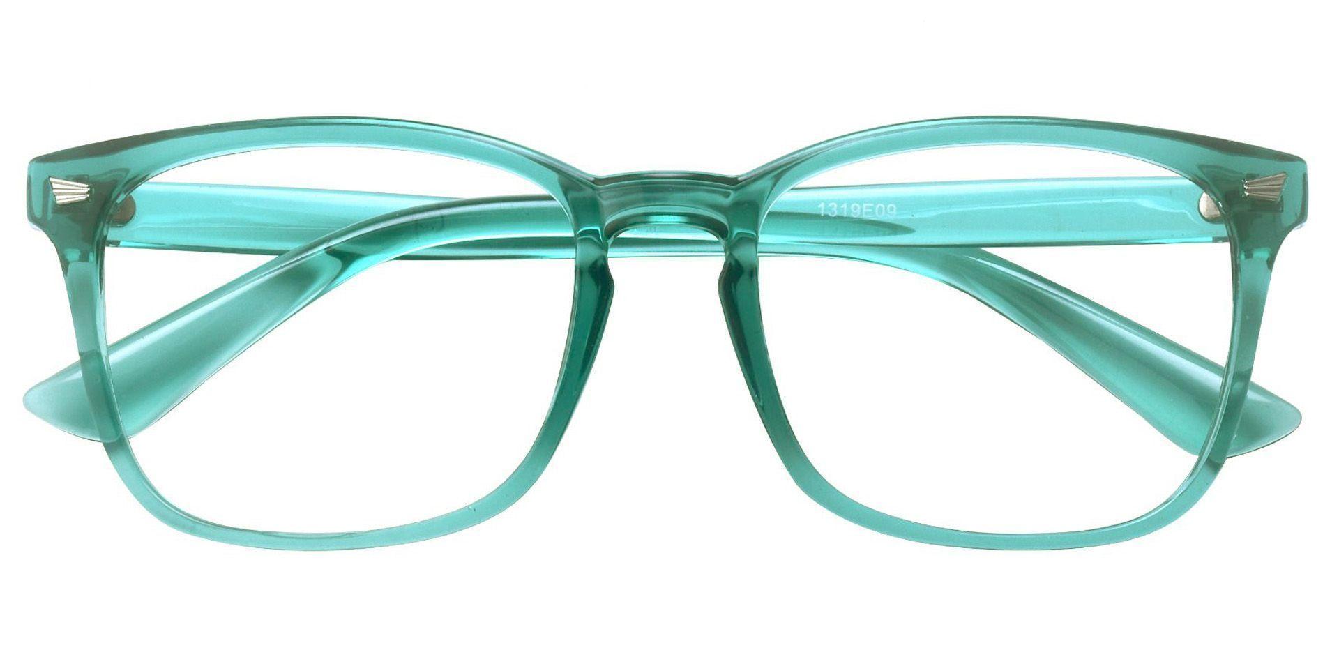 Rogan Square Prescription Glasses - Green