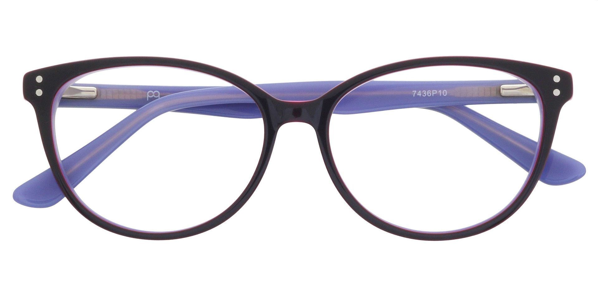Valentina Cat Eye Prescription Glasses - Purple