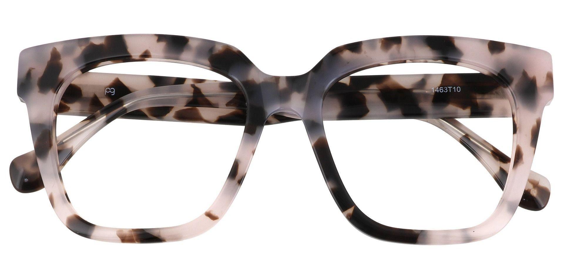Lyric Square Prescription Glasses - Tortoise