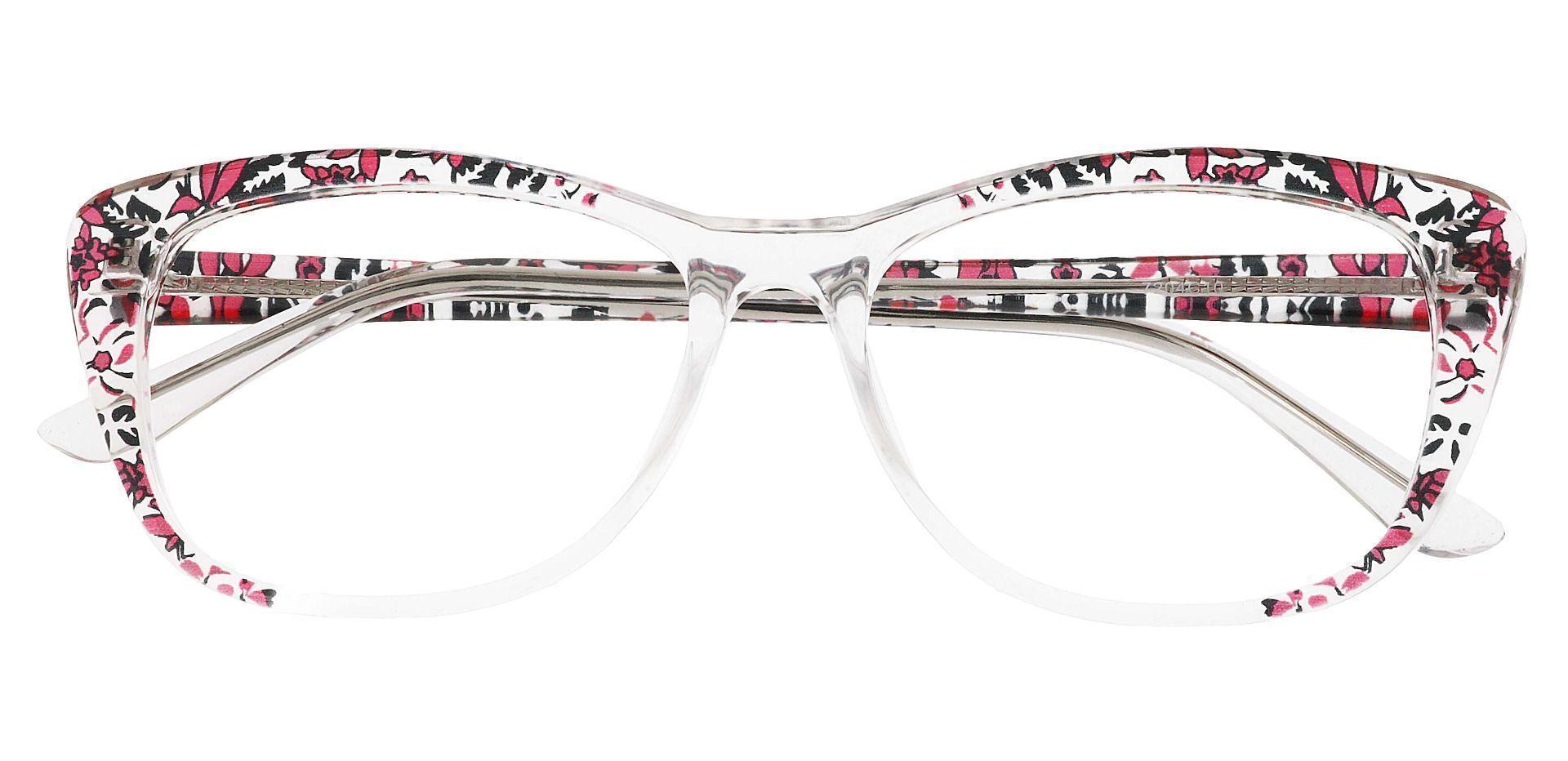 Simone Cat-Eye Prescription Glasses - Clear