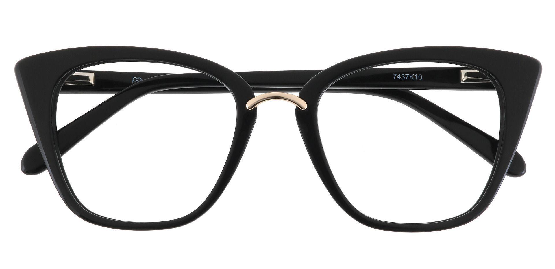 Sala Cat Eye Prescription Glasses - Black