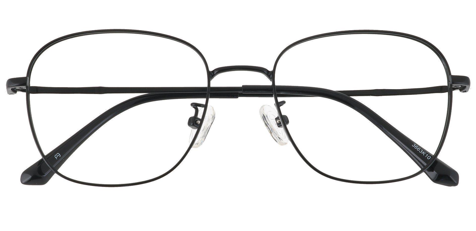 Fresno Square Prescription Glasses - Black