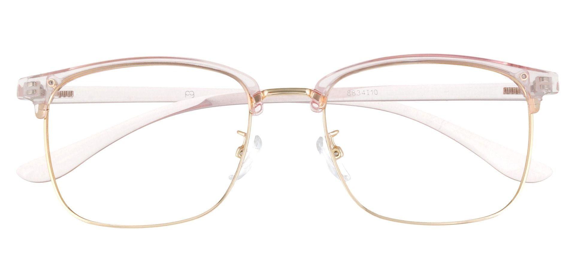 Simcoe Browline Prescription Glasses - Pink