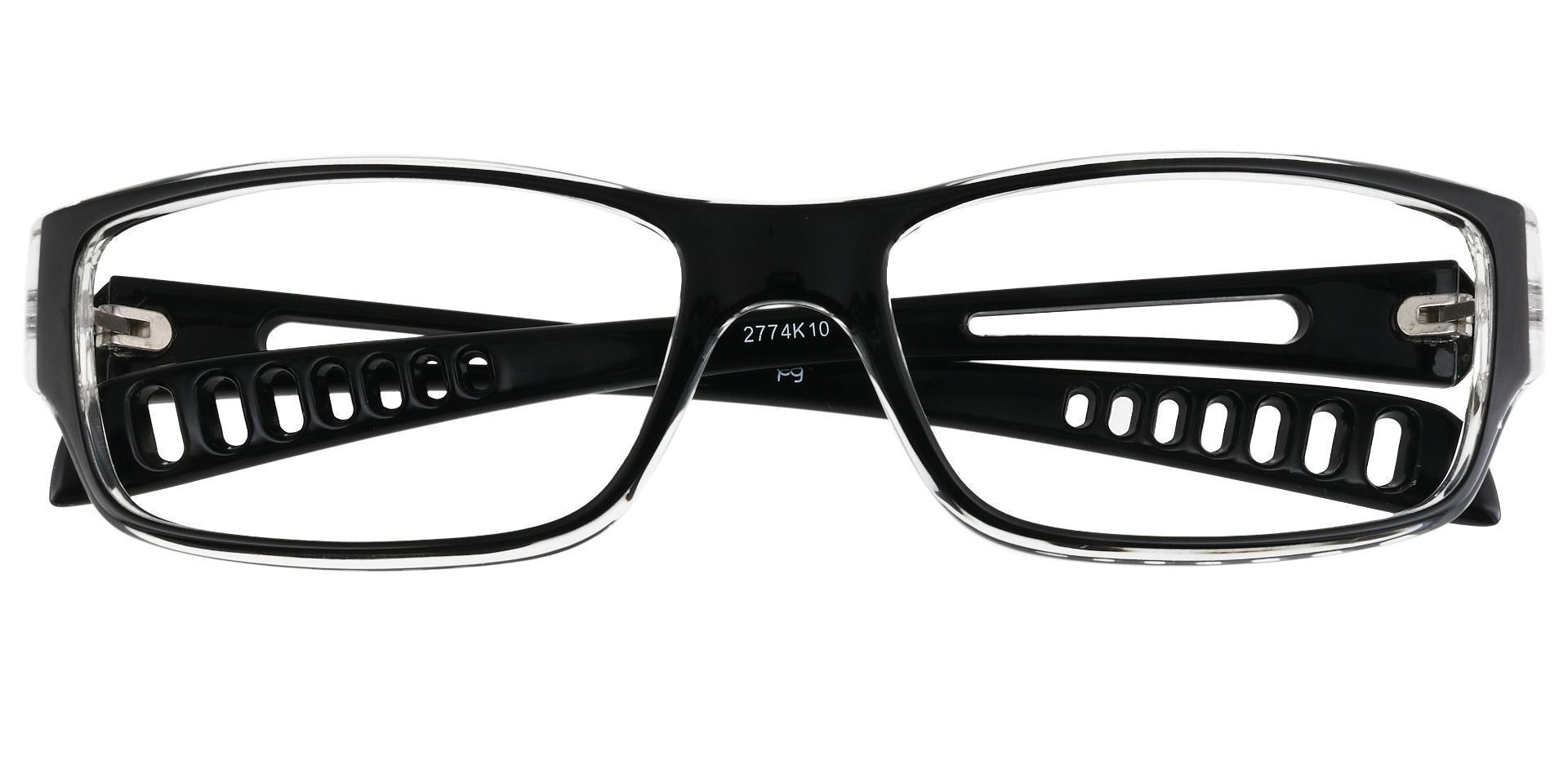 Mercury Rectangle Prescription Glasses - Black