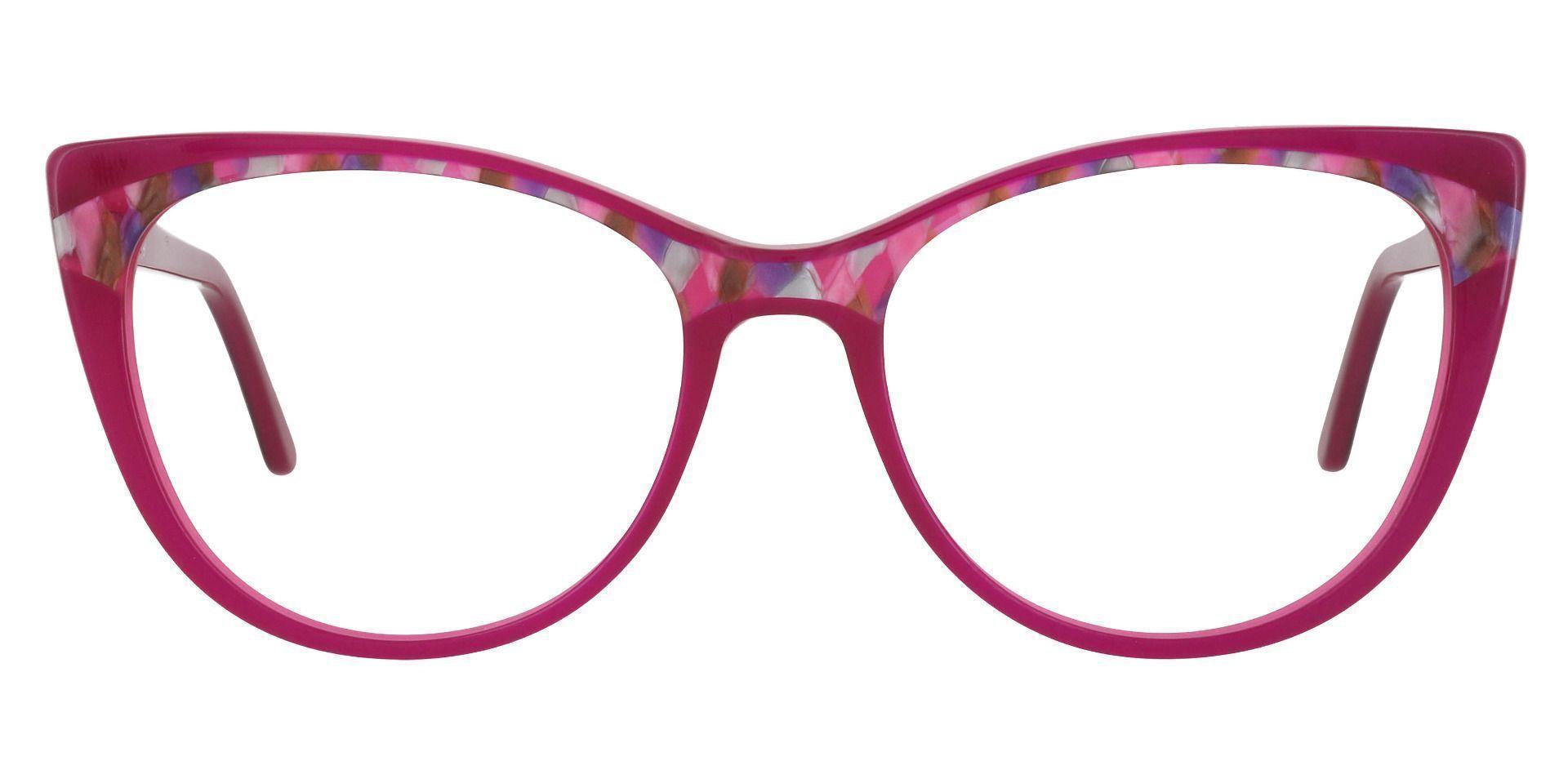 Cabernet Cat Eye Prescription Glasses - Pink