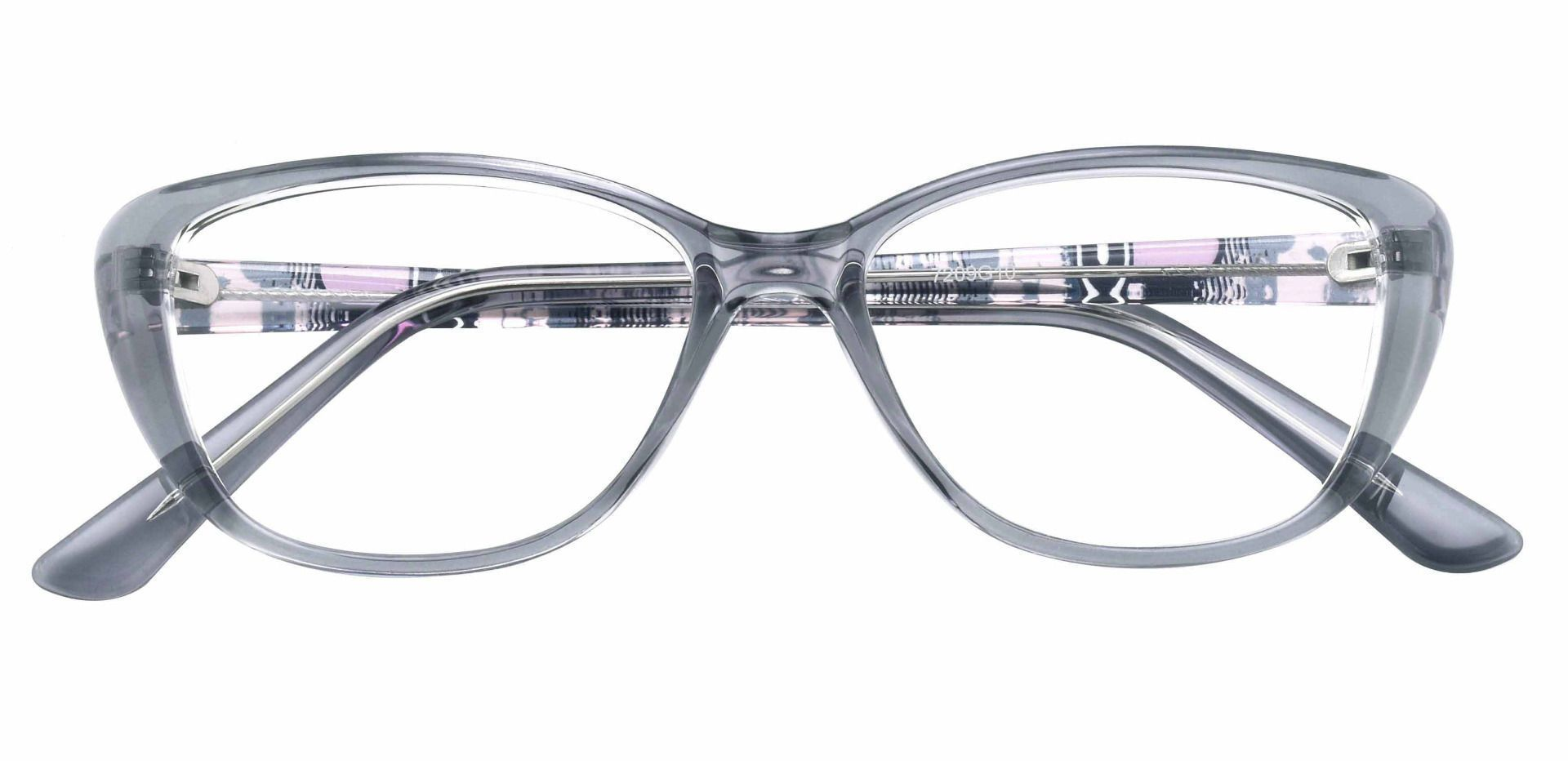 Sicily Cat Eye Prescription Glasses - Gray